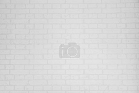 Photo for White brick wall surface and texture for background - Royalty Free Image