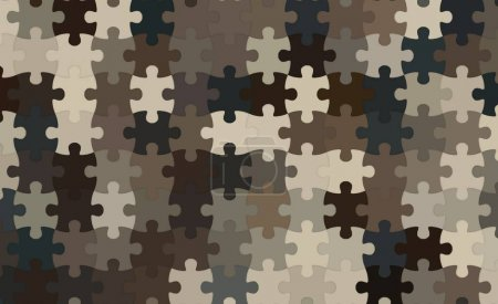 Modern digital abstract Jigsaw puzzle background....