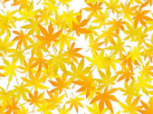 Seamless fall leaves pattern - autumn background