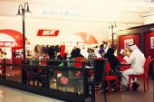 Abu Dhabi International Airport Cafe