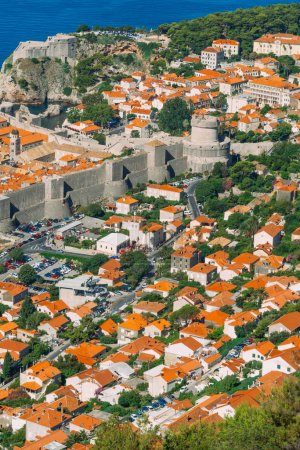 Dubrovnik Old Town, Croatia. Inside the city, view...
