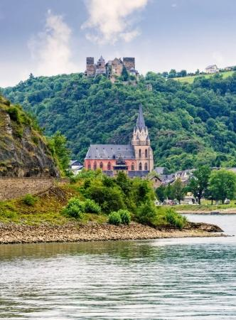 castle schonburg on the rhine