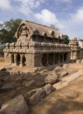 Panch Rathas - Mamallapuram - India