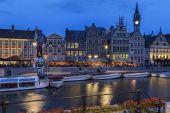 The Graslei - Ghent - Belgium