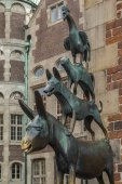 Town Musicians of Bremen - Bremen - Germany