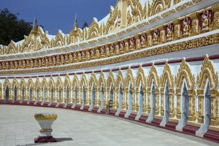 Photo for U Min Thonze Cave - A greatly revered Buddhist temple at Sagaing in Myanmar (Burma) - Royalty Free Image