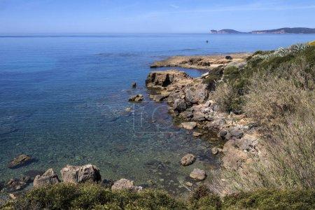 Western coastline of Sardinia - Italy