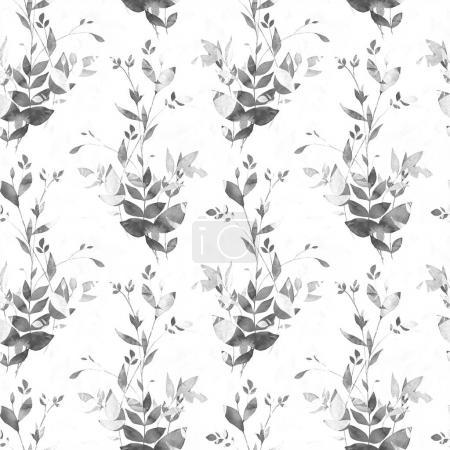 vividly leaves seamless pattern