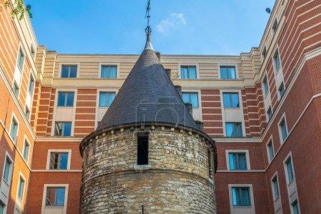 Vue de la Tour Noire à Bruxelles, Belgique