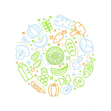 Healty food icon
