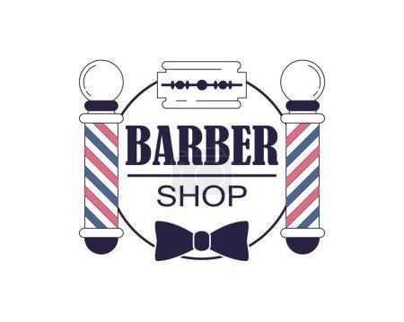 Barber shop banner template