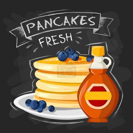 restaurant breakfast poster