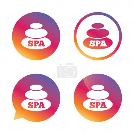 Spa sign icons