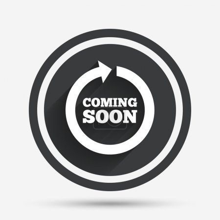 Coming soon icon.