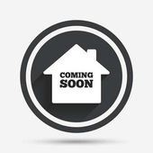 Coming soon sign icon
