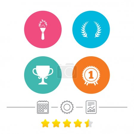 First place award icons