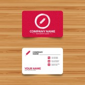 Business card template with texture Gluten free sign icon No gluten symbol Phone web and location icons Visiting card  Vector