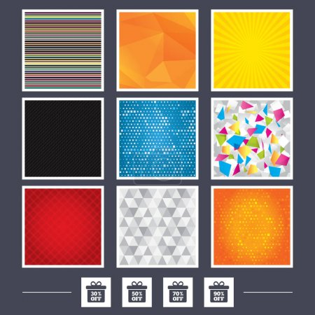 Mossaic and low poly design