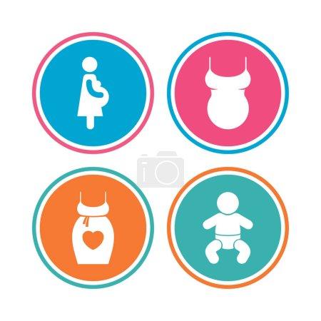 Baby infant, pregnancy, dress.