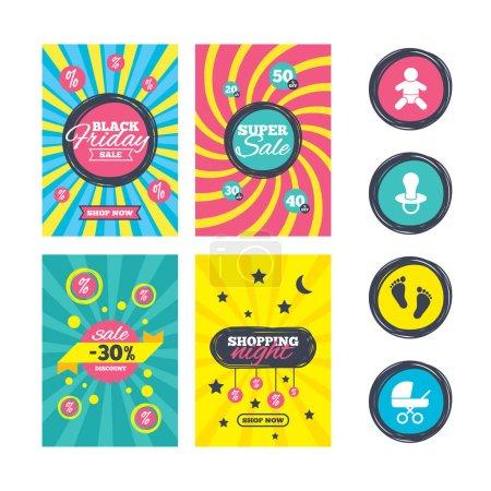 Sale  brochures templates