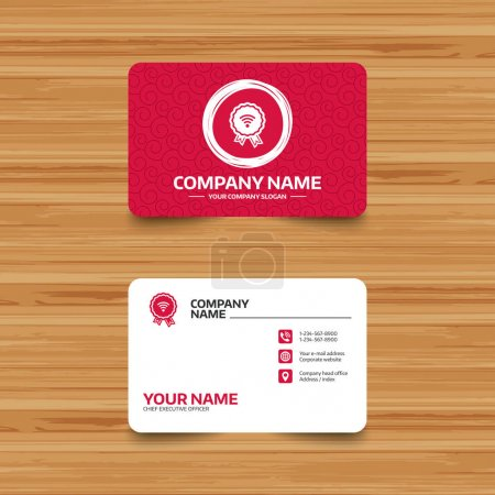 namecard sides template