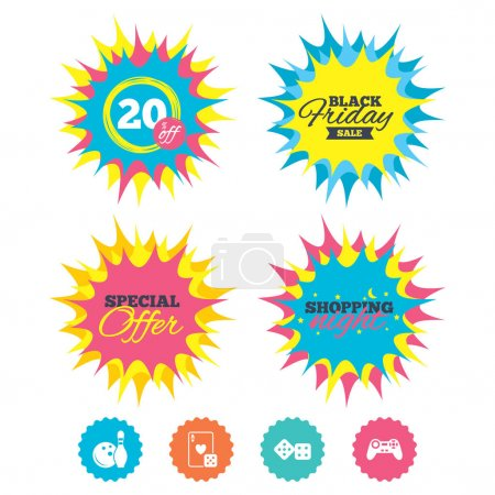 Illustration for Sale icons set, vector illustration - Royalty Free Image