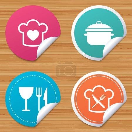 Cooking symbols icon