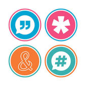 Colored circle buttons vector illustration
