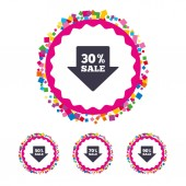 Set of  Sale icons