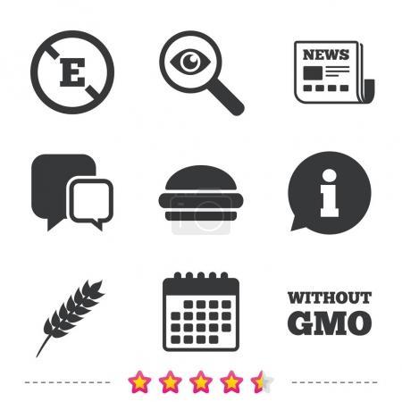 Food additive icons