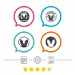 Star vote ranking, vector illustration...