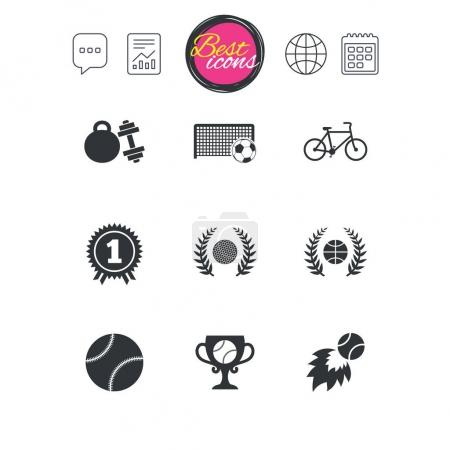 Sport games icons