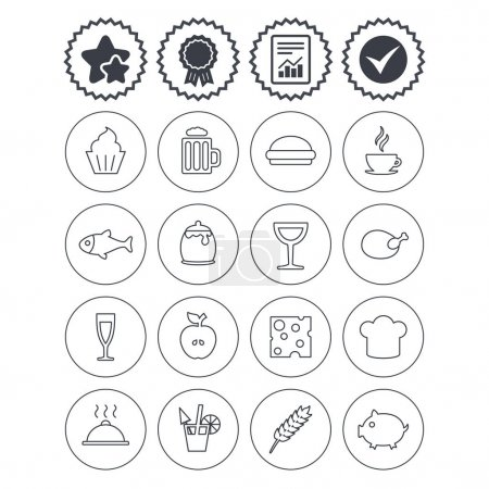Food sign icons