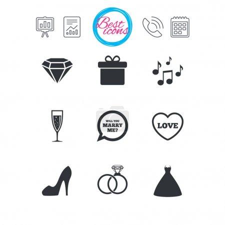 Mariage, icônes de l'engagement