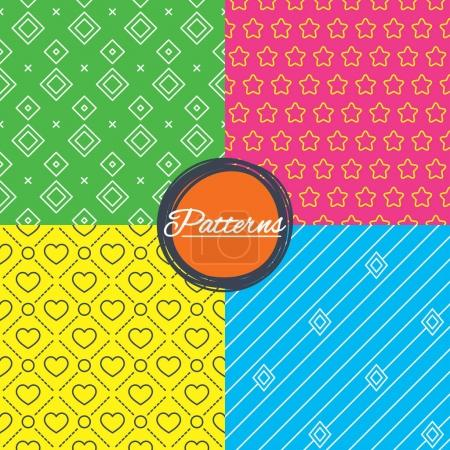 Linear geometric patterns