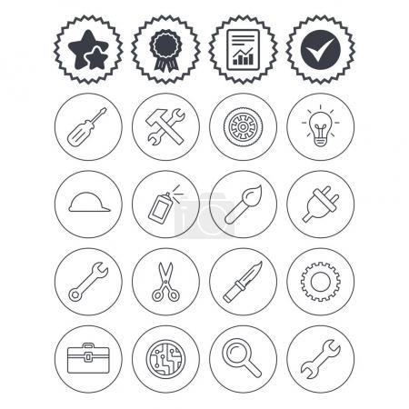 Repair tools icons