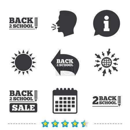 Back to school icons.
