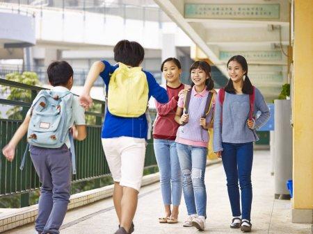 asian elementary school children