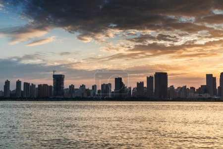 Photo for Sunset in the city - Royalty Free Image