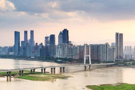 Photo for Modern city,shanghai skyline in daytime - Royalty Free Image