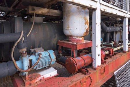 Photo pour Pompe à moteur industrielle en Chine - image libre de droit