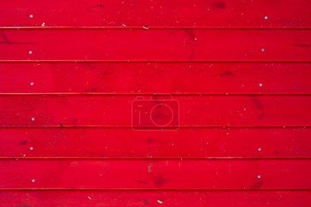 Foto de Seamless red wooden plank background - Imagen libre de derechos