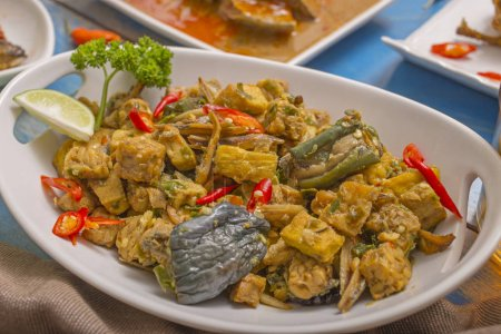 Photo for Lunch menu Indonesian culinary - Royalty Free Image