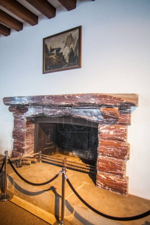 Hitlers fire place
