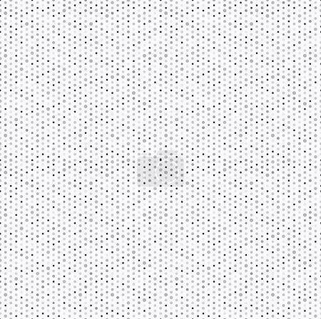Illustration for Dots seamless pattern, vector illustration - Royalty Free Image