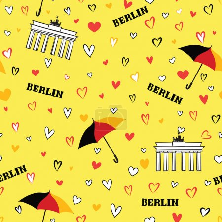 Travel Berlin city pattern