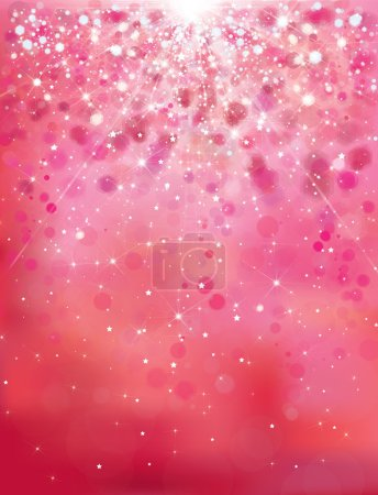 abstract pink sparkle background.