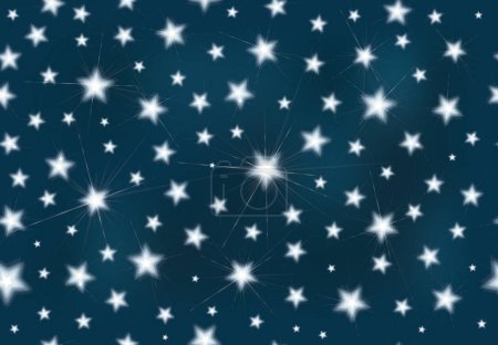 seamless starry background