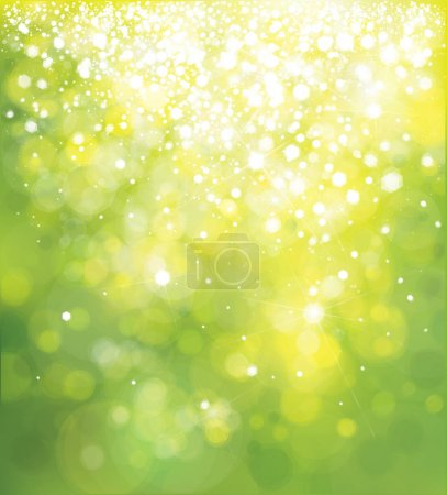 Color bokeh background
