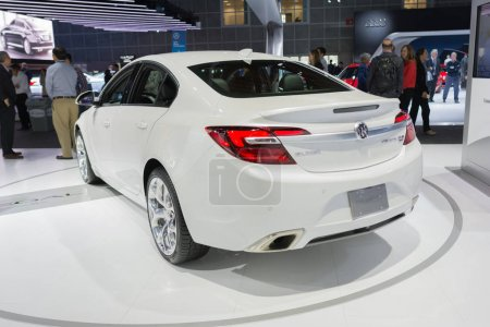 Buick Regal GS on display